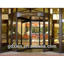 Crystal 3 Wings Automatic Revolving Door Top Quality