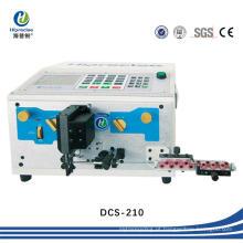 Corte automático do fio da precisão de SGS e máquina de descascamento do cabo