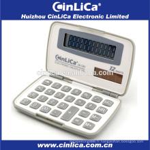 JS-12H calculatrice en plastique pliable 12 chiffres