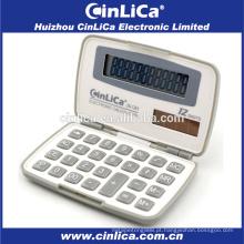 JS-12H plástico dobrável calculadora de 12 dígitos