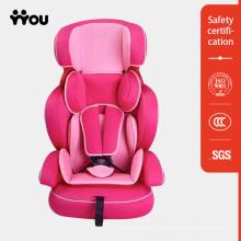 Asiento de carro rosa