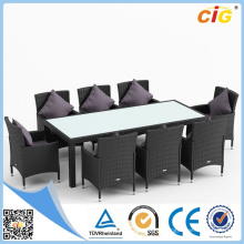 11PCS Popular Good Quality Glass Dining Set Best Price