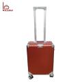 Mala eminente personalizada do trole da bagagem da mala de viagem do alumínio