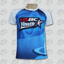 Nueva camiseta de encargo del estilo de la moda