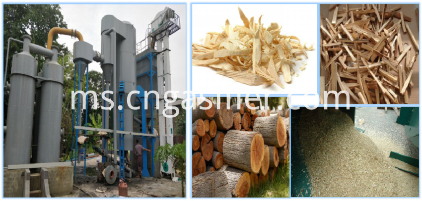 wood gasifier power