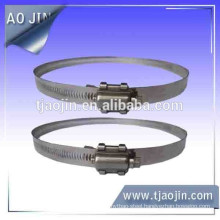 Heavy duty American style clamp 15.8mm,Hose clamp with elastic cushion,hose clamp