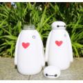 Heißer Verkauf kreativer Glas-Sport-Wasser-Flaschen-Geschenk-Geschäft Geschenk-Schale