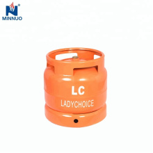 Cylindre de gaz de 6kg lpg