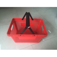 Supermarket Shopping Hand Plastic Basket