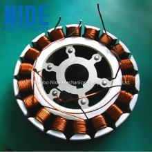 Automatic BLDC armature coil winding machine for wheel hub motor stator
