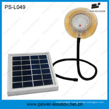 Waterproof Flexible Solar Lamp with Mobile Phone Charger
