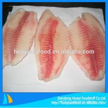 Filet de tilapia congelé bon marché fournisseur ample