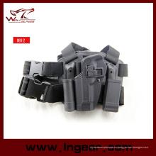 M29 Gota pierna izquierda pistolera táctica Blackhawk pistola pistolera