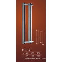 Poignées de porte en verre de douche d'acier inoxydable de marché de l'électroménager Trempé Poignée de porte en verre coulissante