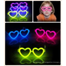 2015 modische individuelle Folienbeutel Brillen im Dunkeln leuchten