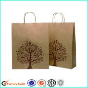 Brown Kraft Paper Bags Custom Logo