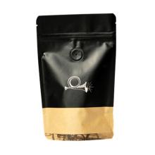 Saco de empacotamento plástico de café puro com válvula