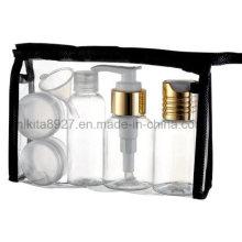 Set de botellas de plástico para viajes cosméticos (NTR03)
