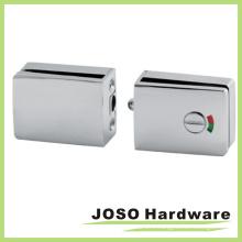 Double Glass Door Fixed Keyless Locksets Indicator Lock (GDL003B)