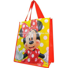 Minnie Face Recycled shopping bag non woven bag