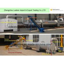 Máquina de secagem do secador de cilindro giratório da condição ambiental