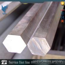Barre hexagonale en acier inoxydable