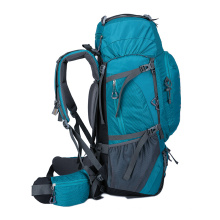 Large 60L Lightweight Climbing Backpack Hiking Rucksack Backpack with Detachable Back