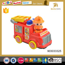 2 in 1 battery operated fire truck toy