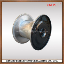 machined metal bobbin for copper wire and cable