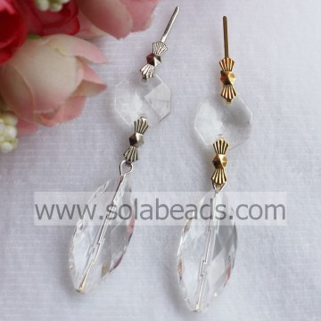 Winter 14*30mm Beaded Light Curtain garland Drop