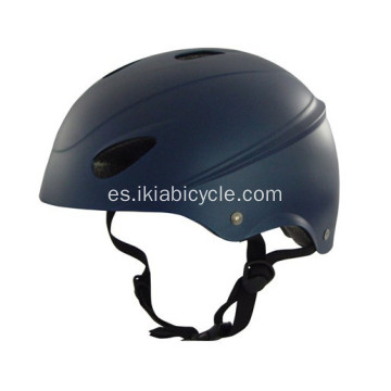 Casco de bicicleta color negro para adulto