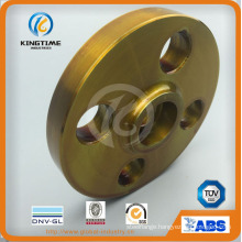 Hot Sale Carbon Steel Sw Flange with Yellow Coating (KT0188)