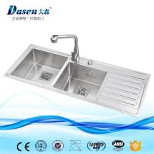Günstige Vanity Einheiten Tischplatte Gebrauchte Kommerziellen Doppel Schüssel Spüle Waschbecken Preis