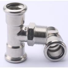 Stainless Steel304/316L Press Plumbing Fitting System