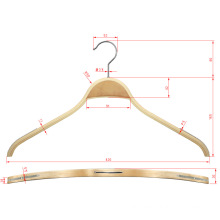 Bendable Laminated Zara Style Wooden Display Coat Hanger