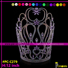 Wholesale large pageant crowns tiaras cheap price
