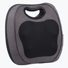 Electric 3D Kneading and Tapping Cushion Massager Car and Home Heated Shiatsu Back Massage Pillow