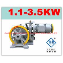 Máquina de la tracción de 100KG Canon elevador para montaplatos
