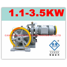 100KG Canon Elevator Traction Machine for Dumbwaiter