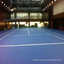 Profesionales de PSP / PVC de tenis al aire libre de deportes de suelo