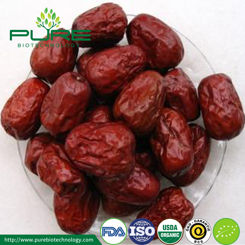 New Crop Organic Red Dates