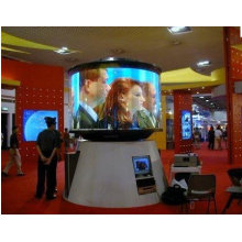 Shenzhen P12 Outdoor Flexible Led Video Wall For Shopping Square Advertising