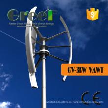 Turbinas verticales de 3KW con calidad superior y mejor precio