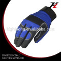 Warm and safety Micro fiber impact mechanic gloves