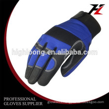 Warm and safety Micro fiber impact resistance mechanic gloves