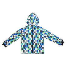 Boys' poly-woven casual jacket with hood soft shell jacket