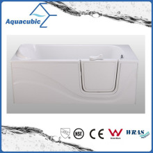 Acrylic Walk-in Wheelchair Safe Bathtub for Disabled (AB-3060JW)