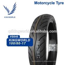 Motocicleta Tubeless Tubo 100 / 90-17 100 / 90-18, Tubeless Tubeless Motorcycle 90 / 90-12 80 / 90-17 Escolha de Qualidade