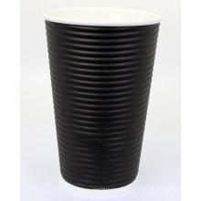 Copos de ondulação para café, restaurantes, escritório Hot bebidas