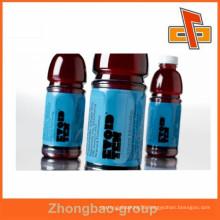 heat sensitive pvc shrink sleeve/label for functional drink bottles